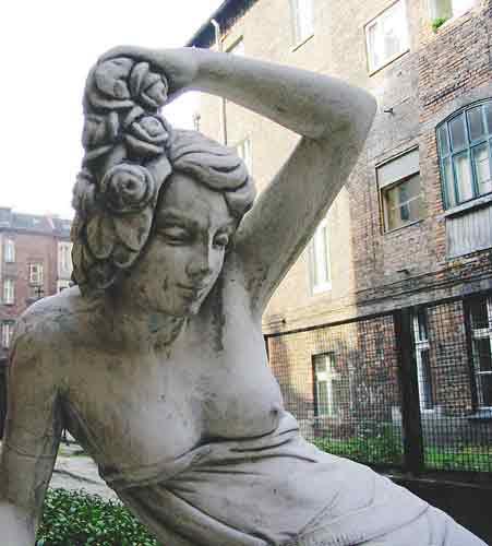 rzeźba, katowice
