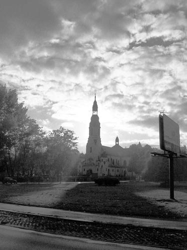 kościół, katowice