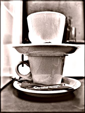 kawa, herbata, filizanki