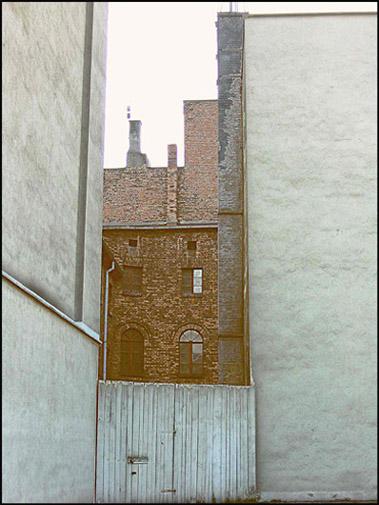 Katowice, podwórko przy ul. Warszawskiej